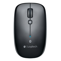 Logitech M557 Wireless Bluetooth Mouse - Dark Gray