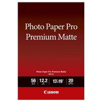 "Canon 13"" x 19"" Premium Pro Matte Photo Paper 20-Sheets"