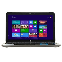 "HP Pavilion 15-e037cl 15.6"" Laptop Computer Refurbished - Anodized Silver with Micro Dot Design"