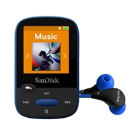 SanDisk Clip Sport 8GB MP3 Player - Blue