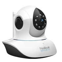 WinBook T7838 HD Wireless Pan Tilt Night Vision 2-Way Audio Plug & Play P2P IP Camera