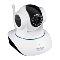 WinBook Security T6835 Wireless Pan Tilt  Night Vision 2-way audio Plug & Play P2P IP Camera