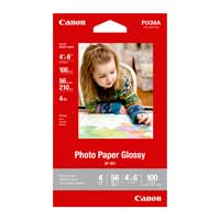 "Canon 4""x6"" GP-601 Glossy Photo Paper 100-Sheets"