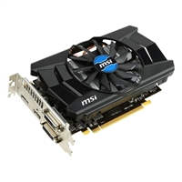 MSI AMD Radeon R7 260 Overclocked 1GB  PCIe 3.0x16 Video Card