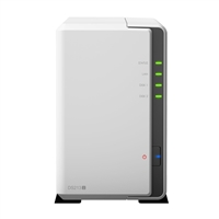Synology DiskStation 2-Bay Network Attached Storage (NAS) Enclosure