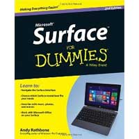 Wiley SURFACE FOR DUMMIES 2/E