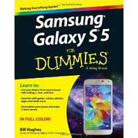 Wiley Samsung Galaxy S5 For Dummies, 1st Edition