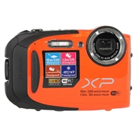 Fuji FinePix XP70 16.4 Megapixel Digital Camera - Orange