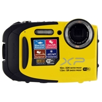Fuji FinePix XP70 16.4 Megapixel Digital Camera - Yellow