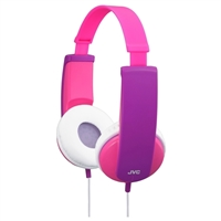 JVC HAKD6P TinyPhones On Ear Headphones - Pink/Purple