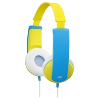JVC HAKD6Y TinyPhones On Ear Headphones - Yellow/Blue