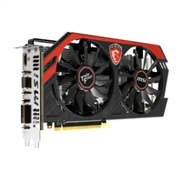 MSI NVIDIA GeForce GTX 750 Ti 2GB OC GDDR5 PCIe 3.0x16 Video Card