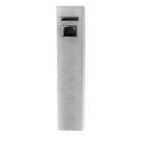 Inland 2600 mAh Power Bank Battery Charger for Mobile Devices - Silver