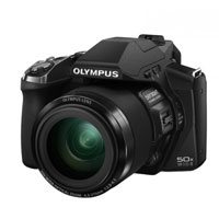Olympus SP-100 16 Megapixel Digital Camera - Black