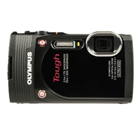 Olympus TG-850 16.0 Megapixel Digital Camera - Black