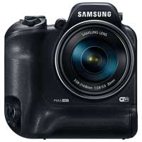 Samsung WB2200F 16.4 Megapixel Smart Digital Camera - Black