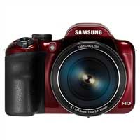 Samsung WB1100F 16.2 Megapixel Smart Digital Camera - Red