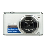 Samsung WB350F 16.3 Megapixel Digital Camera - White