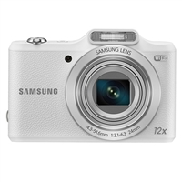 Samsung WB50F 16.2 Megapixel Smart Digital Camera - White