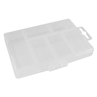 Velleman Plastic Storage Box - 6 Compartments