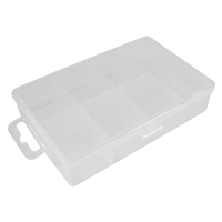 Velleman Plastic Storage Box - 7 Compartments