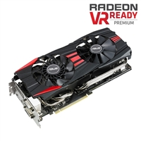 ASUS R9-290-DC2OC-4GD5 AMD Radeon R9 290 4GB GDDR5 Direct CU II PCI-e Video Card