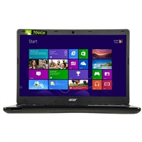 "Acer Aspire E1-472P-6695 14"" Laptop Computer - Piano Black"