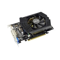 ASUS GTX750PHOC1GD5 GeForce GTX 750 OC 1GB GDDR5 PCI-e 3.0x16 Video Card