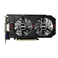 ASUS GTX750TI-OC-2GD NVIDIA GeForce GTX 750Ti Overclocked 2048 GDDR5 PCIe 3.0x16 Video Card