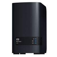WD My Cloud EX2 8TB (2 x 4TB) Personal Cloud Network Attached Storage