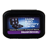 Delkin Devices Water Resistant Tote for 8 SD Memory Cards