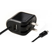 National Cellular DUAL CHARGER  W/USB PORT