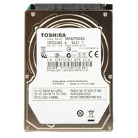 "Toshiba 640GB 5400RPM 8MB Cache SATA II 3Gb/s 2.5"" Notebook Hard Drive MK6476GSX - Bare Drive"