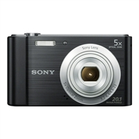 Sony Cyber-shot DSC-W800 20.1 Megapixel Digital Camera - Black