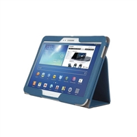 Kensington Comercio Soft Folio Case & Stand for Samsung Galaxy Tab 3 10.1 - Denim Blue
