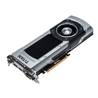 ASUS GTXTITANBLACK6G NVIDIA GeForce GTX Titan Black 6GB GDDR5 PCIe3.0 x16 Video Card