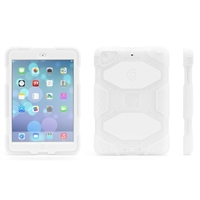 Griffin Survivor Case for iPad mini - Clear/White