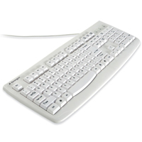 Kensington Pro Fit USB Washable Keyboard - White