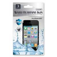 Delton Wireless Water Resistant & Dirtproof Protective Skin for iPhone 4/4s