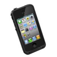 LifeProof Waterproof Case for iPhone 4/4S - Black
