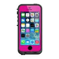 LifeProof Fre Case for iPhone 5/5s - Magenta/Black