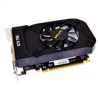 PNY NVIDIA GeForce GTX 750Ti Overclocked GDDR5 PCIe 3.0x16 Video Card