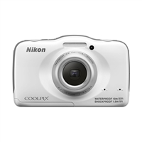 Nikon Coolpix S32 13.2 Megapixel Digital Camera - White