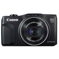 Canon PowerShot SX700 HS 16.1 Megapixel Digital Camera - Black