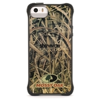 Griffin Survivor Clear Case for iPhone 5/5s - Mossy Oak Black Shadow Grass