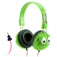 Griffin KaZoo MyPhones Headphones - Frog