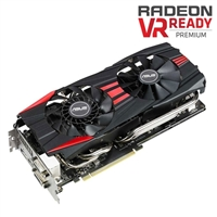 ASUS R9290XDC2OC4GD5 AMD Radeon R9 290X 4GB GDDR5 PCIe 3.0 Video Card