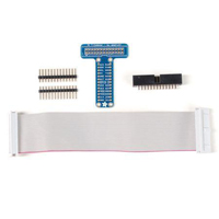 Adafruit Industries Pi T-Cobbler Breakout Kit for Raspberry Pi with GPIO Cable