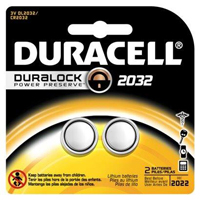 Duracell Electronics Battery #2032