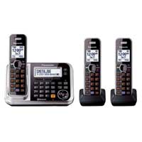 Panasonic Link2Cell Bluetooth Cellular Convergence Solution with 3 Handsets